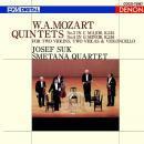 モーツァルト:弦楽五重奏曲第3番・第4番