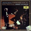 ブラームス:交響曲第3番・第4番 [DVD]